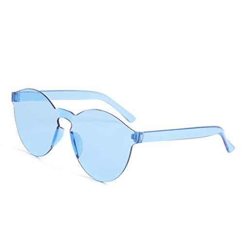 Toasye Sonnenbrille UV400 Retro Design Stil Unisex Brille (Stück Mehrfarbig Brillen)