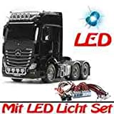 Tamiya 1:14 RC Truck - LKW MB Actros 3363 6x4 GigaSpace + LED Licht Set