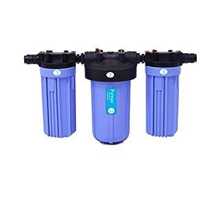 Pureau 2 Wasserenthärter und Wasserfilter für das ganze Haus, kein Salz nötig, tolles gefiltertes Wasser, einfacher Wechsel von Kartuschen ideal für Ekzeme und Schuppenflechte.