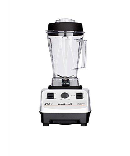JTC OmniBlend I 3HP Original Series Commercial Kitchen Blender with 2.0L BPA-Free Jug (White)