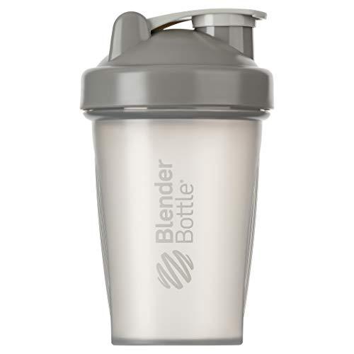 BlenderBottle Classic Shaker   Eiweiß Shaker   Diät Shaker   Protein Shaker mit Blenderball 590ml - Clear Pebble 20 Oz Pebble