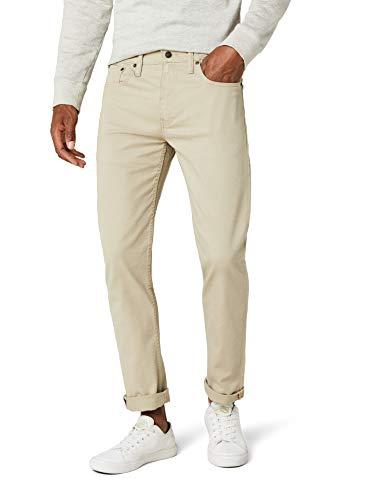 Levi's Herren Tapered Tapered Fit Jeans 502 Regular Taper, Beige (Punk Star - True Chino 0009), W40/L32 (Star Jeans Männer)