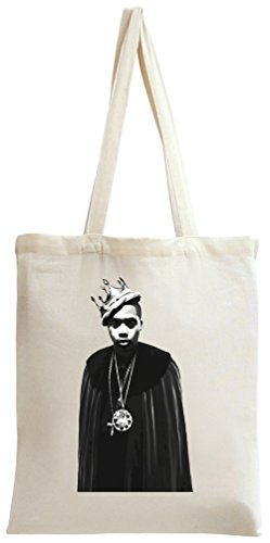 Nas With Crown Tote Bag