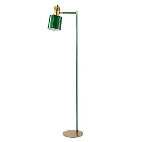 Grün-sofa-satz (Stehleuchte Nordic Simple Postmodern Led Stehleuchte Lichter Licht Luxus Wohnzimmer Sofa Schlafzimmer Designer Lichter (Farbe : Grün))