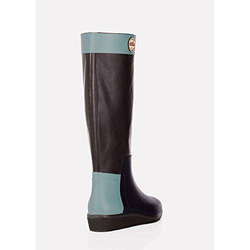 Nokian Footwear Loose Leg Black, Gummistiefel Braun Trikolore