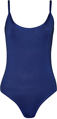 Fashion 4 Less Nuovo Da Donna Strappy Bardot Body Top.Regno Unito 8 – 14 Navy