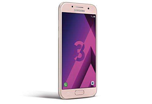 Samsung Galaxy A3 2017 Smartphone Portable débloqué 4G (Ecran: 4,7 Pouces - 16 Go - Nano-SIM -...