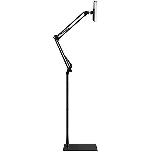 ß, 360 Grad Verstellbarer Standfuß-Halter Anwendbar: iPhone6s, iPhone6s Plus, iPad Mini, iPad air Starker Flexibler Arm,Black,1.7m ()