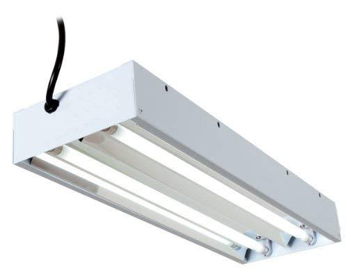 Senua Leuchtstoffröhre T5Energiesparlampe für Hydrokulturen 6500K (Grow Hps Kit)