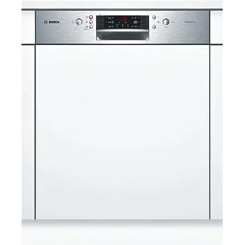 Bosch SMI46MS01E Série 4 Silence Plus Lave-vaisselle 60 cm encastrable A++  262 kWh an 1820 l an avec paniers VarioFlex et tiroir Vario, acier  inoxydable à ... 56a8d3930d98
