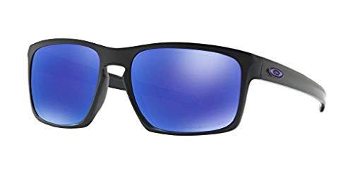 Oakley Herren Sonnenbrille  Sliver,Schwarz (Matte Black - OO9262-10), 57