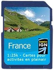 Satmap GPS System Karte 1:25000 Frankreich