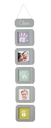 Baby Art - 34120120 - Height Print Chart - Metro da appendere personalizzabile con le foto del tuo bebè