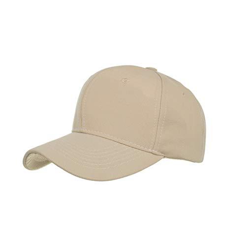 TWIFER Unisex Gorra de béisbol, algodón Clásico Estilo Casual Deportivo Liso Sombrero para el Sol, Gorra de béisbol Ajustable de Color Liso, Suave y Transpirable Suave para Hombre Mujer