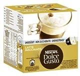 Nescafe Dolce Gusto Spezialitäten in Kapselform - Latte Macchiato ungesüßt