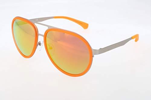 Calvin Klein Herren Jeans Sonnenbrille, Yellow, 57
