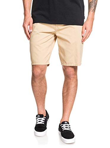 QUIKSILVER Herren Everyday Chino Light Short Walk, Warm Sand, 30