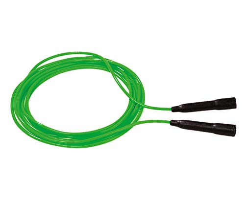 Betzold 3395 - Springseil Rope-Skipping-Schwungseil, 6 m, Hüpfseil, mit festen Kunststoffgriffen - Seilhüpfen Seilspringen Kinder Sport Schulsport Turnen Aufwärmen Seil hüpfen springen