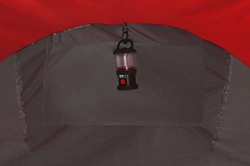 High Peak Pop Up Zelt Vision 2, Rot/Grau/Schwarz, 10107 -