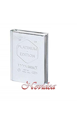 Gut novidea diario agenda smemoranda 16 mesi datato special edition platinum standard 2018/2019 16x11,5 cm + omaggio penna colorata