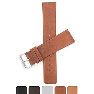 14mm – 31mm Leder Uhrenarmband Für Skagen, Braun, Schwarz Und Weiß