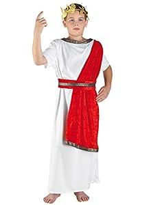 Clown 83212/12 - Disfraz antiguo griego, para niño, multicolor