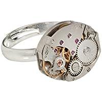 Handgemachter Steampunk Ring (Oval) Einzigartige ungewöhnliche Geschenkidee.