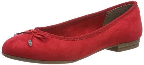 MARCO TOZZI Damen 2-2-22135-32 Geschlossene Ballerinas, Rot (Red 500), 39 EU