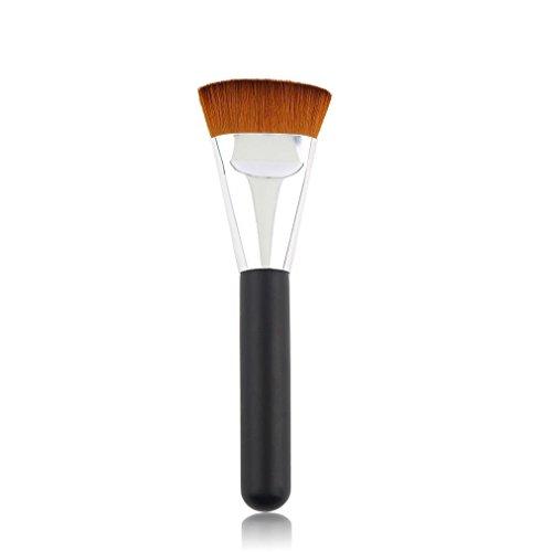 Velishy Pro Grand pinceau de maquillage plat pour contours doux