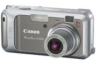 Canon Powershot A460 Digitalkamera (5 MP, 4-fach opt. Zoom, 5, 1cm (2 Zoll) Display) 5 Megapixel Canon Powershot
