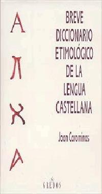 Breve Diccionario Etimologico Lengua Cas