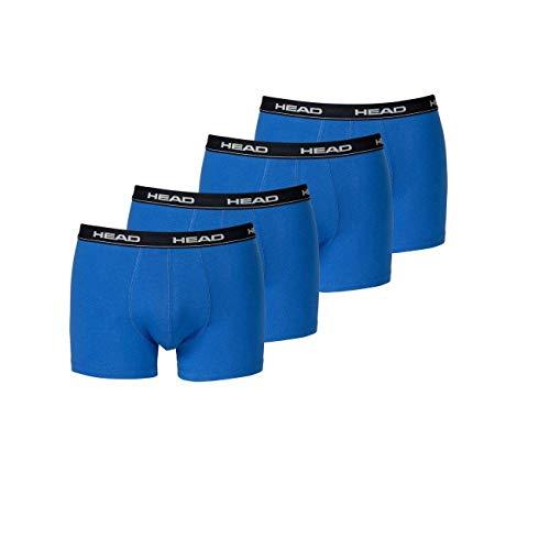 HEAD Men Boxershort Basic Boxer 4er Pack, Größe:XL;Farbe:blue/black (Boxer-jeans Für Männer)