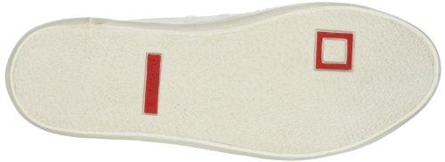 Scarpe donna D.A.T.E. ( date ) sneakers bianco / verde tessuto AP565 Verde