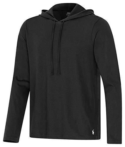 Polo Ralph Lauren Longsleeve Hoodie Shirt Langarm Sleep Top XXL Black (001) -