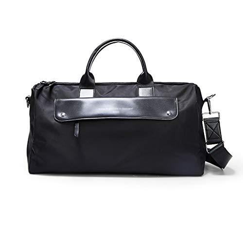 Yuanjiashop Sporttaschen Großraum-Handtaschengepäck Trocken- und Nassabscheidung Fitness-Kurzstrecken-Schwimmsporttasche Fitnesstasche (Color : Black B)