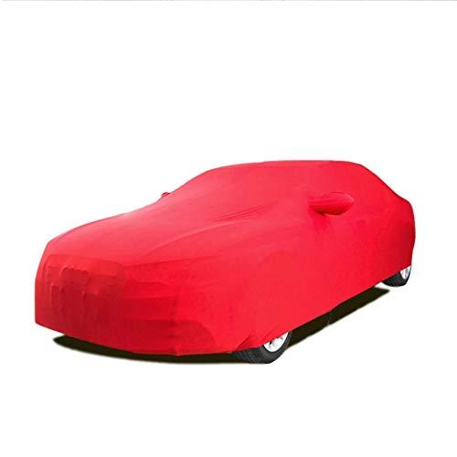 Preisvergleich Produktbild LALAWO Chezhao benutzerdefinierte Version pu-Leder Stretch Kleidung dreidimensionalen schneiden im freien wasserdicht (Keller,  autoshow,  autohändler) gewidmet (für McLaren Serie) (Farbe : SCHWARZ)