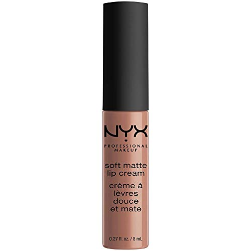 NYX Soft Matte Lip Cream, Abu Dhabi, 1er Pack (1 x 8 ml)