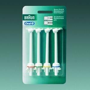 Braun Oral-B Ersatzdüsen Ed 9 - 4 124665 für Braun Oral-B Mundduschen und Mundcenter