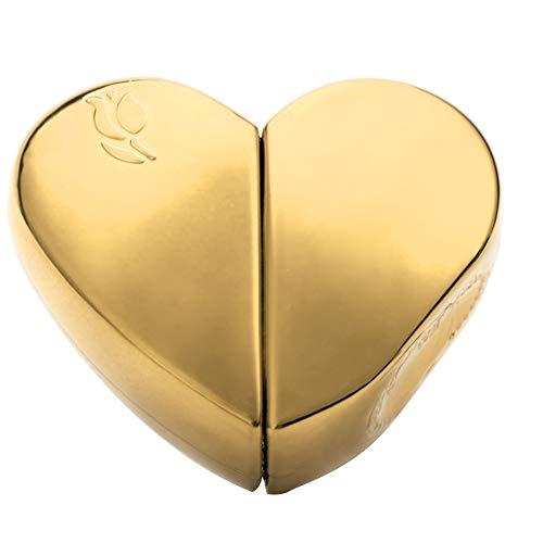 25 ml Parfümflasche mit Herzpumpe, leere Pumpe, Reiseset gold - 25 Ml Tropfen