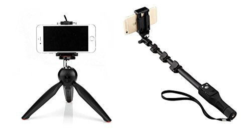Mini Tripod Universal YT-228 For Digital Camera & All Mobile Phones- Black ONLINE SHOPIE IS THE ONLY REGISTERED SELLER