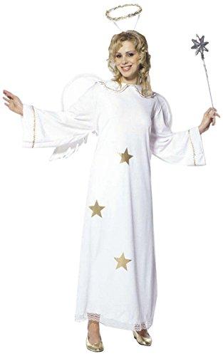 chsenenkostüm Sternenengel, Kleid mit Flügel und Heiligenschein, Größe M (Angel Halloween Kostüme Für Frauen)