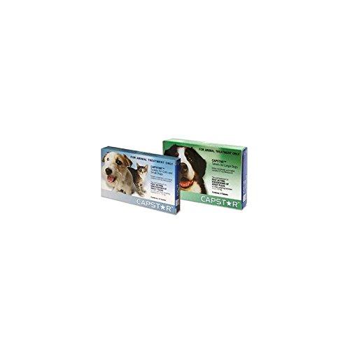 Novartis Capstar Flohbehandlung Tabletten 6 X 11.4Mg Hund & Katze (Beste Katze Floh-behandlung)