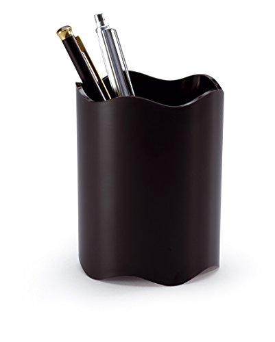 Durable 1701235060 portapenne, dimensioni: Ø 80 mm, altezza 102 mm, confezione da 1 pezzo, nero