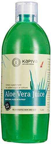 Kapiva Aloe Vera Juice - With Pulp, 1L