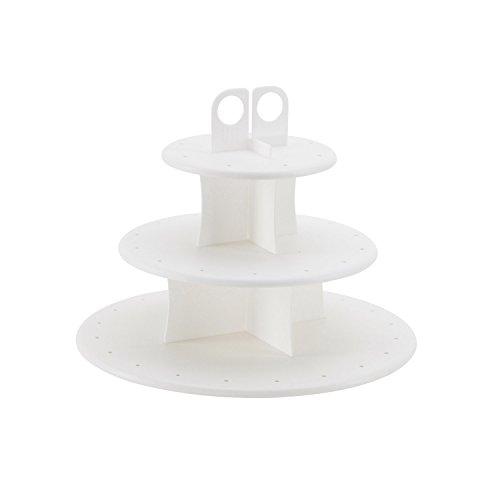 Sweet Creations Cupcake und Kuchen Pop 3-Tier-Display Ständer