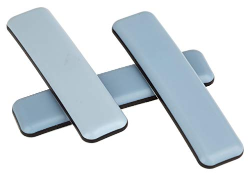 In Teflon 4/pezzi con viti 25/X 25/mm con rivestimento in PTFE laflon superg testa Sedia gleiter quadrato