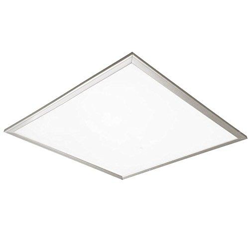 Preisvergleich Produktbild Led4U LD101 LED Panel 40W Slim Deckenleuchte Warmweiß 2800-3200K 60x60 Decken Lampe Licht (1)