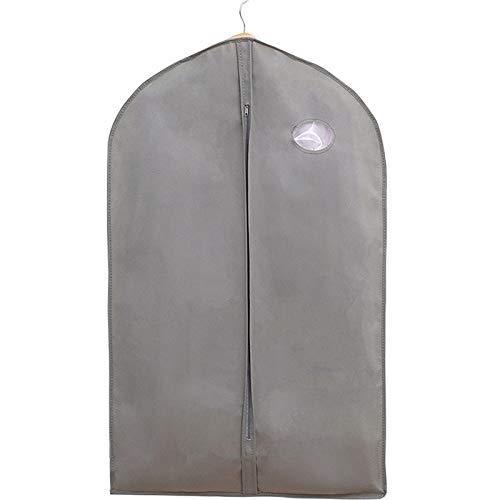 WATERMELON Graue Kleidung Staubbeutel Hängen Vlies Material Transparent Haushalt Lagerung Finishing Kleidung Lagerung Staubbeutel 8 Pack kleidersäcke (Size : S*8)