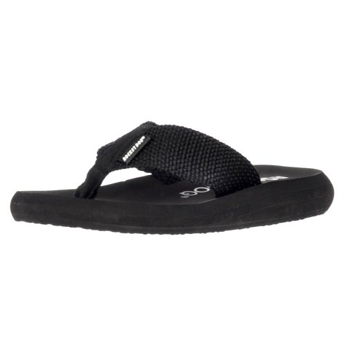 Rocket Dog Amazon PB - Sunset Webbing - Flat Flip Flops - Black, Double Cream, Brown, Black Scuba PU, Navy