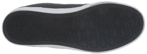 Umbro Terrace Low Canvas, Baskets mode homme Noir (214 Noir/Blanc/Schiste)
